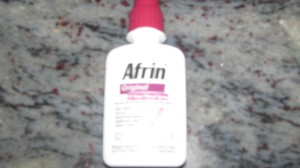 Don't let your friends fly with Afrin